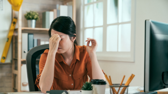 Having headaches? It may be changes in your hormones.